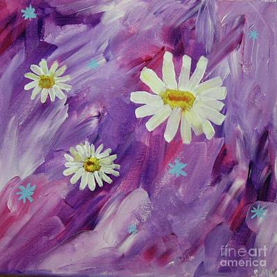 Painting - Delirious Daisies  by Susan Williams