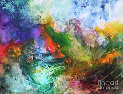 Painting - Delirium by Jutta Maria Pusl