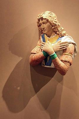Photograph - Della Robbia's Adoring Angel by Cora Wandel