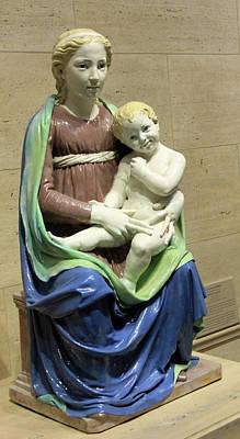 Photograph - Della Robbia's Madonna And Child by Cora Wandel