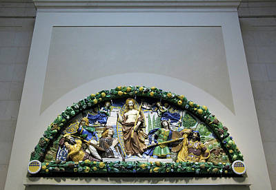Photograph - Della Robbia's Resurrection Of Christ by Cora Wandel