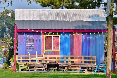 Photograph - Delmarva Fun Barn by Kim Bemis