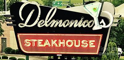 Photograph - Delmonicos Steakhouse by Michael Krek