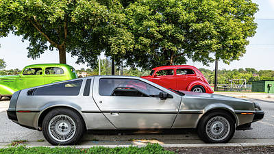 Photograph - Delorean Dmc-12 by Randy Scherkenbach