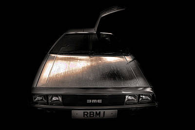 Traveller Photograph - Delorean by Martin Newman