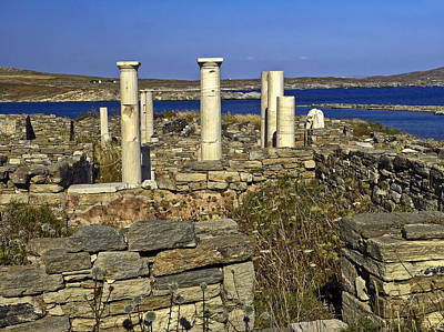 Delos Greece Archeology Site Art Print