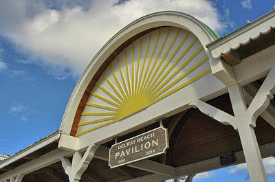 Photograph - Delray Pavilion by Jamart Photography