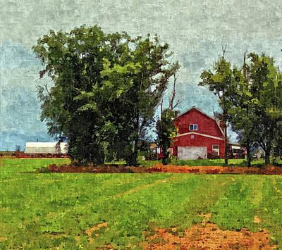 Delta Barn Art Print