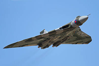 Photograph - Delta Bomber Vulcan Xh558 At Riat by Ken Brannen