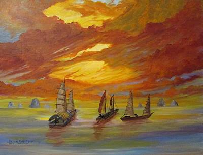 Painting - Delta Dawn by Dave Farrow