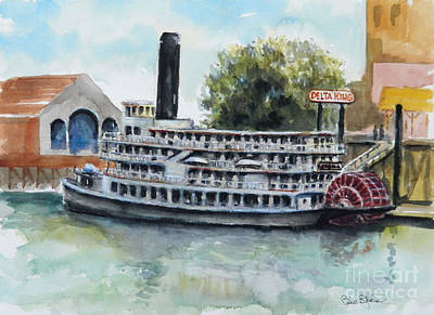 Painting - Delta King by William Reed