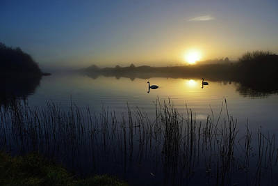 Photograph - Delta Lakes by Phil Fitzsimmons