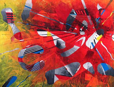 Delta Medley II Art Print by Rollin Kocsis