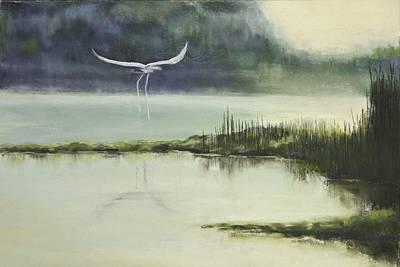 Delta Mist Art Print