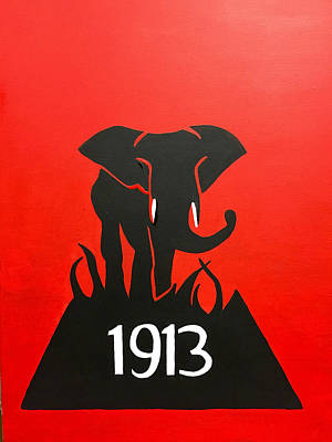 Delta Sigma Theta Elephant  Original