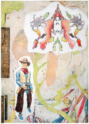 Encaustic Painting - Delusions Of Grandeur by Karl Frey