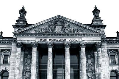 Photograph - Dem Deutschen Volke by John Rizzuto