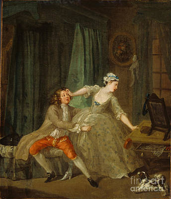Hogarth Painting - Demand by Celestial Images