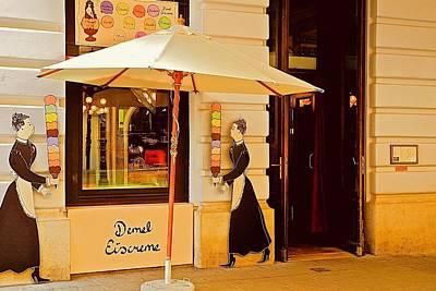 Photograph - Demel Eiscreme Shop by Kirsten Giving