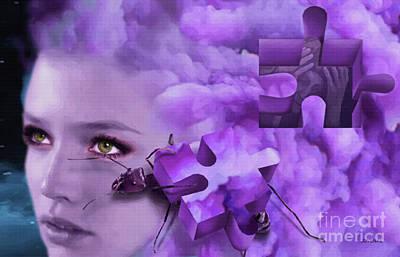 Digital Art - Dementia by Joseph Juvenal