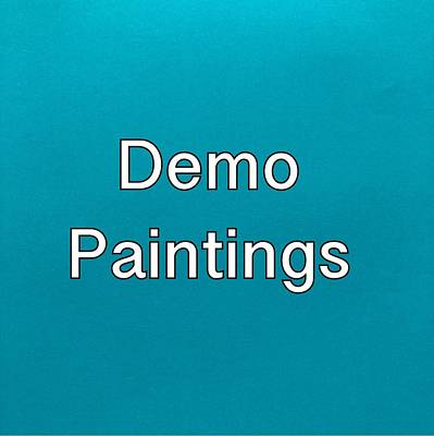 Painting - Demo Paintings Logo by Darice Machel McGuire