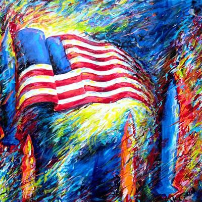 Democratize Art Print by Dennis McCann