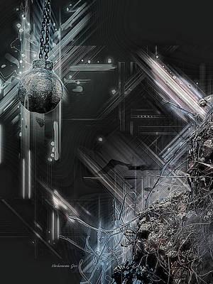 Digital Art - Demolition by Jos Verhoeven