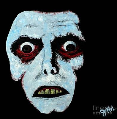 Fandom Painting - Demon Face by JoNeL Art