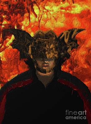 Fantasy Royalty-Free and Rights-Managed Images - Demon Vampire by Esoterica Art Agency