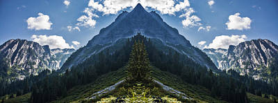 Mountain Royalty-Free and Rights-Managed Images - Demonhead Mountain by Pelo Blanco Photo