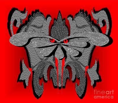 Painting - Demonic by Belinda Threeths