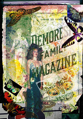 Digital Art - Demorest Photo Collage  by Cathy Anderson