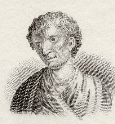 Demosthenes, 384 To 322 Bc. Greek Art Print