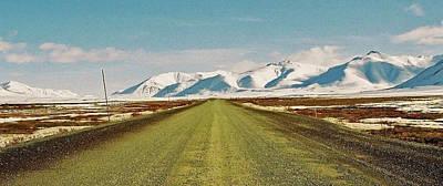 Dempster Highway - Yukon Print by Juergen Weiss