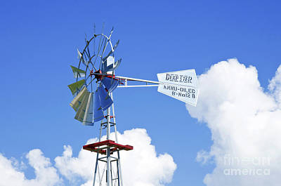 Photograph - Dempster Windmill Of Powell Gardens by Andee Design