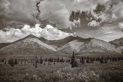 Faith Hope And Love Photograph - Denali Alaska  by Scott Mullin