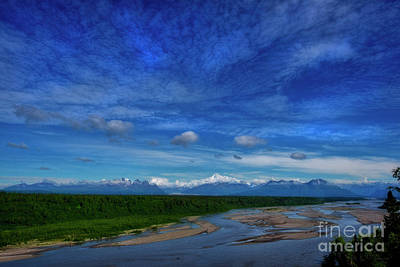 Photograph - Denali And Range From The South by David Arment