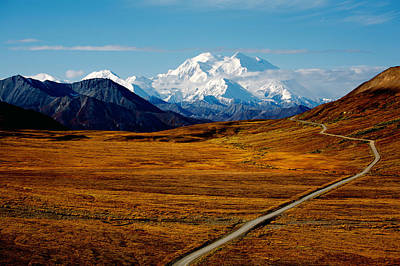 National Park Photograph - Denali by Graham Clark
