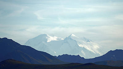 Photograph - Denali In The Evening by Jean Clark