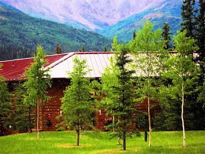 Photograph - Denali Lodge by Bill Howard