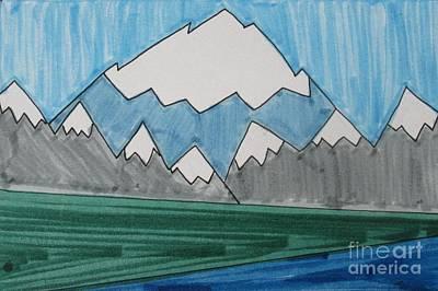 Denali National Park Art Print