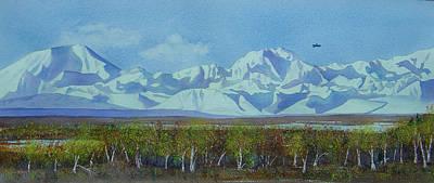 Painting - Denali Park Alaska by Teresa Boston