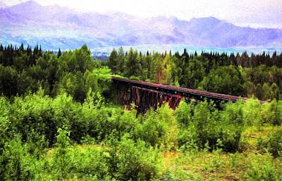 Photograph - Denali Railway by Bill Howard