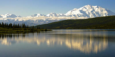 Photograph - Denali Reflection by Jen Morrison
