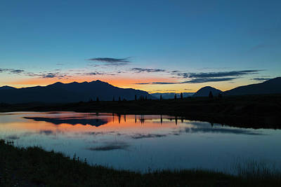 Alaska Photograph - Denali Reflection Lake by Scott Slone