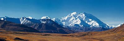 Alaska Photograph - Denali Rise by Ed Boudreau
