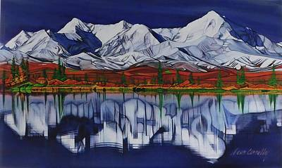 Painting - Denali by Sean Connolly