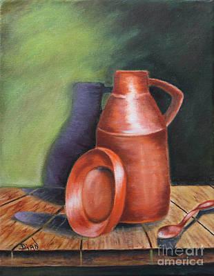 Painting - Dena's Spoon by Dian Paura-Chellis