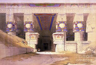 Dendera Temple Complex, 1938 Art Print