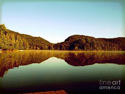 Photograph - Denholm Lake by France Laliberte